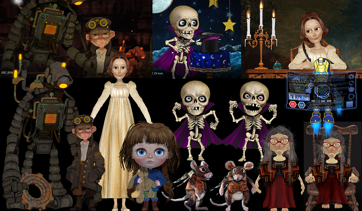 All MY PUPPETS